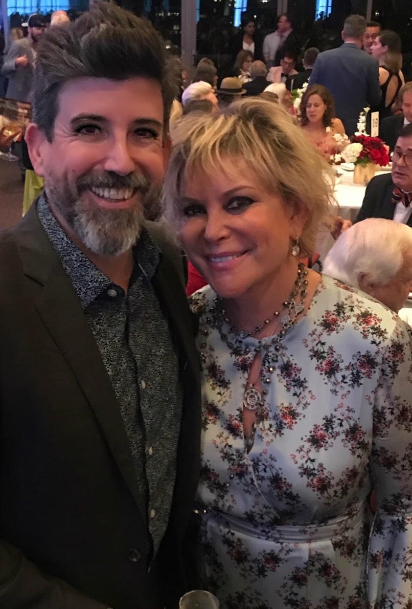 "Wendy Federman with ""Hadestown"" Choreographer David Neumann"