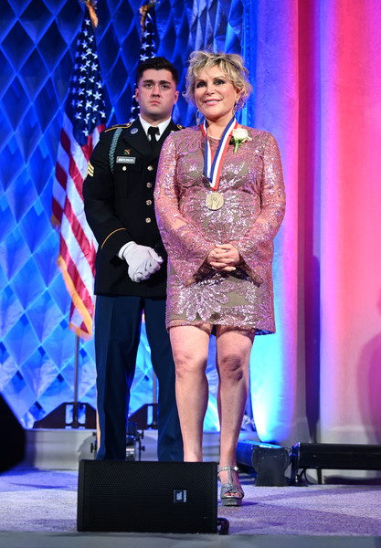 Wendy Federman Receiving The Ellis Island Medal of Honor