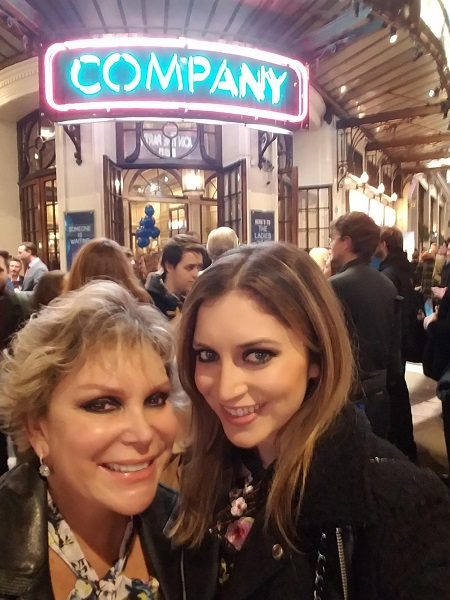 Wendy & Heather Federman at Company's Opening Night resized
