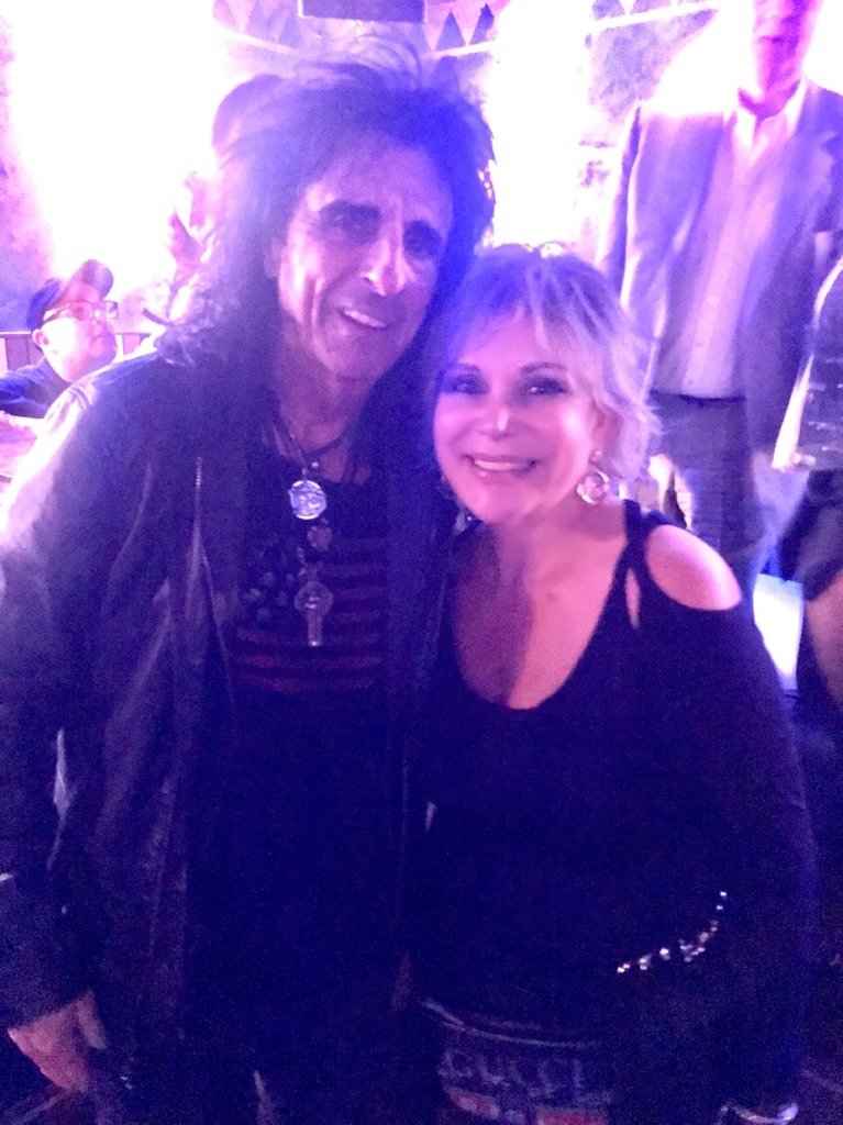 Wendy with Alice Cooper 4-2-18