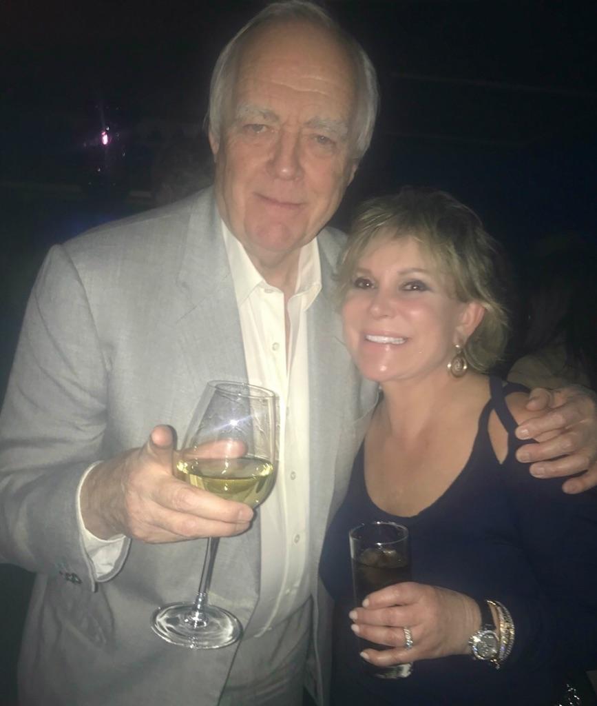 Wendy with Sir Tim Rice 4-2-18