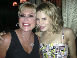 "Wendy Federman with Celia Keenan-Bolger, star of ""To Kill A Mockingbird"""
