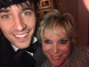 Wendy Federman and Reeve Carney