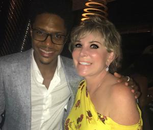 Wendy Federman with Ephraim Sykes