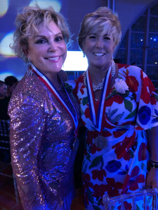 Wendy Federman with fellow Ellis Island Medal of Honor recipient, Patricia Norris McDonald, mayor of the village of Malverne, NY