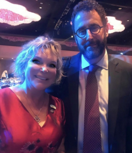 Tony Kushner, Angels in America, Pulitzer Prize winning playwright, Wendy Federman, Broadway Producer