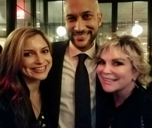 Wendy with Keegan Michael-Key