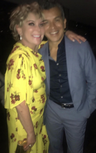 Wendy Federman with Sergio Trujillo