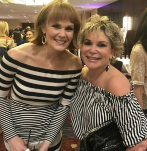 With Multi Tony Award Nominee and costarring in Bway's Hello Dolly Kate Baldwin at the 2017 Drama League Awards RESIZED