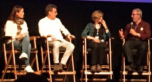 Jennifer Garner, Bryan Cranston, Robin Zwicord in a Telluride-Film-Festival-panel-500x271-web