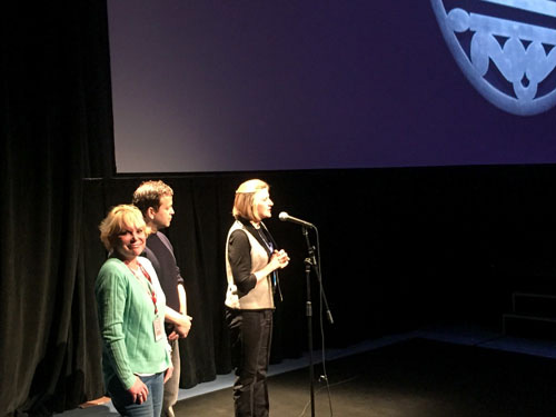 Wendy-Federman-with-Robin-Swicord-and-composer-Aaron-Zigman-at-a-Wakefield-Telluride-screening-500x375